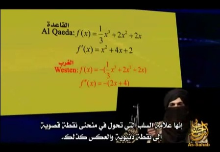 Screenshot 1: angebliches Al-Qaida-Video