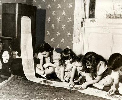 Die Funk-Zeitung kommt per Fax, USA 1938