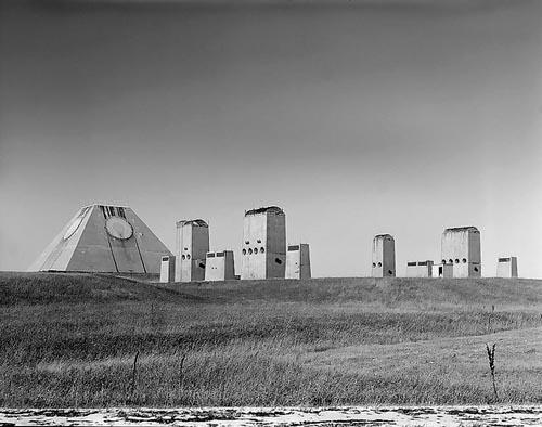 Radaranlage des Raketenabwehrsystems in Nekoma, North Dakota